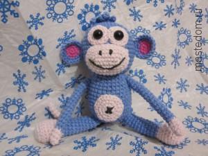 мастер-класс по вязанию обезьяна своими руками