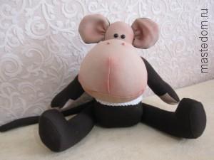 обезьяна в стиле тильда