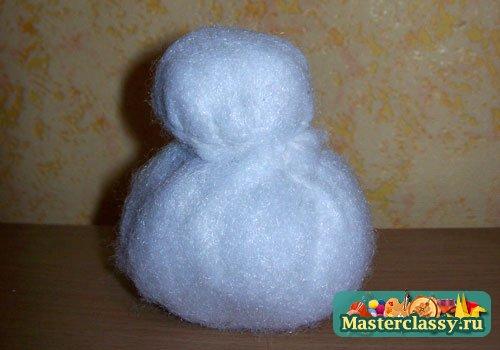 Шапка снеговика как сделать - b551