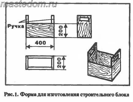 """Строительные блоки - своими руками """" Домашняя работа"""