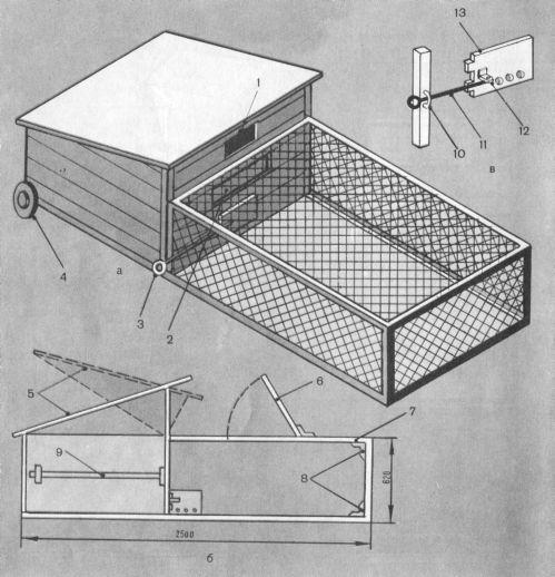 Построить курятник своими руками для бройлеров