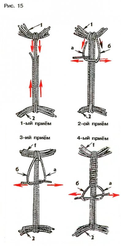 Плетеная рукоятка для ножа своими руками - Яндекс 10