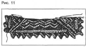 Пуховый платок для пушисто-снежной зимы