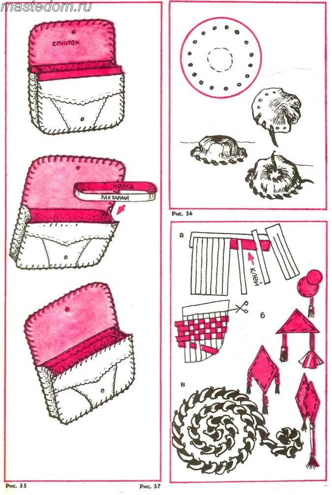 выкройки детских сумок