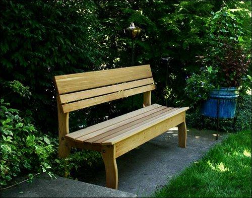 как сделать скамейку »